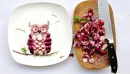 """Ngộ nghĩnh với bộ ảnh """"bức tranh từ những thực phẩm quanh ta"""""""