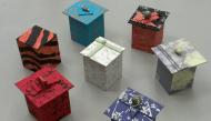 Hướng dẫn làm hộp quà bằng giấy cứng