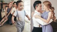 Khánh Thi - Phan Hiển hạnh phúc khi chụp ảnh gia đình