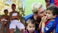 Thái độ bất ngờ của Cristiano Ronaldo khi con mình được so sánh với con Messi