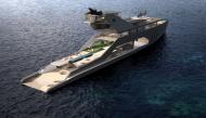 """Chiêm ngưỡng """"siêu du thuyền"""" đầu tiên có cả bãi biển riêng ngay trên boong"""