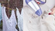 """Để quần áo nhanh khô và không bốc mùi ngày mưa bão, bạn cần những """"bí kíp"""" này"""