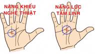 Vị trí đường chéo trong lòng bàn tay sẽ tiết lộ về khả năng đặc biệt của bạn