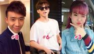 Bất ngờ với top 10 sao Việt được dân mạng yêu thích nhất hiện nay