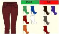 Những nguyên tắc chuẩn khi kết hợp giày và quần giúp bạn trở thành fashionista chính hiệu