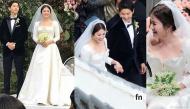 Cận cảnh chiếc váy cưới của Song Hye Kyo trong đám cưới thế kỷ