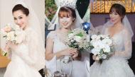 Chiếc váy cưới lộng lẫy nào đã biến sao Việt thành những nàng công chúa xinh đẹp?