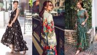 """Cùng ngắm mỹ nhân Việt đọ sắc với hot trend họa tiết """"ngàn hoa"""""""