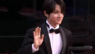 """Clip: Hoàng tử lai Kim Samuel dạo bước trên thảm đỏ MAMA Vietnam 2017 khiến fan """"mất máu"""""""
