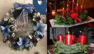 Vòng hoa mùa vọng - linh vật mùa Giáng sinh không chỉ để trang trí