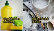 Những sai lầm khi sử dụng nước rửa chén cực tai hại mà nhiều người hay mắc phải