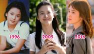 Loạt ảnh cho thấy Song Hye Kyo ngày càng đẹp quyến rũ sau 20 năm bước chân vào làng giải trí Hàn