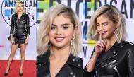 """Selena Gomez ấn tượng với tóc vàng hoe và """"nguyên cây da"""" tại lễ trao giải AMAs 2017"""
