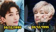 So kè những cặp thần tượng Kpop có cùng ngày tháng năm sinh