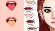 Cách tự chẩn đoán bệnh chính xác 90% chỉ cần nhìn màu môi và lưỡi
