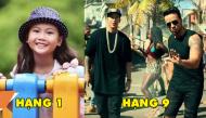 Kết quả khó tin của top ca khúc hàng đầu được yêu thích nhất tại Việt Nam năm 2017