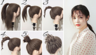 Những kiểu tóc ''cứu cánh'' cho những hôm bạn lỡ không gội đầu