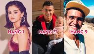 """Top 10 ngôi sao được follow nhiều nhất Instagram 2017: Selena vẫn chiếm ngôi vị """"bá chủ"""""""