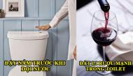 Toilet vẫn thơm sau khi đi vệ sinh chỉ nhờ vài mẹo đơn giản này