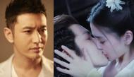 """Nhìn bà xã hôn bạn diễn """"quá ngọt"""", Huỳnh Hiểu Minh """"làm loạn phim trường"""""""