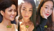 Soi mặt mộc dàn Hoa hậu Việt chấm điểm ai đẹp hơn ai