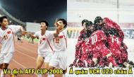 Nhìn lại những chiến thắng lịch sử trong 20 năm qua của đội tuyển bóng đá Việt Nam