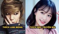 """Những sở thích """"tếu hết chỗ nói"""" của sao Hàn: nam thích làm móng, nữ thích đọc truyện ma"""