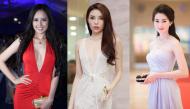 Các cô nàng hoa hậu Việt Nam chọn phương án nào để khoe vòng 1 gợi cảm?