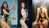 """Đọ số đo vòng eo """"con kiến"""" đẹp hút hồn của loạt mỹ nữ Việt"""