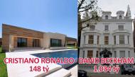 Top 10 ngôi biệt thự đắt đỏ nhất của ngôi sao bóng đá đẳng cấp thế giới
