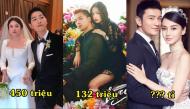 So sánh những cặp nhẫn cưới của sao Hoa - Hàn: người giản dị chục triệu, người khoa trương chục tỉ