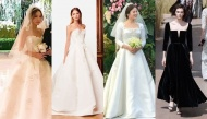 """Trầm trồ trước nhan sắc """"xuất thần"""" của mỹ nhân Hàn khi diện váy cưới còn hơn cả người mẫu"""