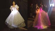 Xu hướng thời trang 2018 là đầm phát sáng hay sao mà mỹ nhân Việt thi nhau diện thế này?