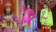 Nhìn lại 15 năm hành trình phong cách thời trang của cô Đẩu tại Táo Quân