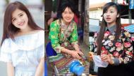 So nhan sắc những cô gái bán hàng rong bất ngờ được phong danh hot girl vì ảnh chụp lén quá xinh