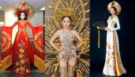 Chiêm ngưỡng những bộ quốc phục hoành tráng của mỹ nhân Việt khi mang ra đấu trường quốc tế