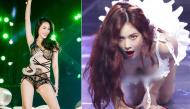 """Những trang phục biểu diễn khiến người xem """"đỏ mặt"""" của sao Hàn và sao Việt"""