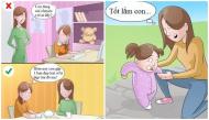 Đừng để những sai lầm của cha mẹ ảnh hưởng đến sự phát triển nhân cách của con trẻ