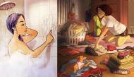 Bộ ảnh cho thấy con gái sống độc thân thoải mái và tự do biết bao nhiêu