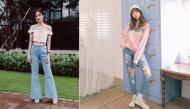 Các chị em đừng mãi trung thành với quần jeans ôm nữa, thời trang hơn đi nào!