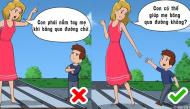 """5 cách giúp bố mẹ thành công """"đối phó"""" khi con nghịch ngợm, không nghe lời"""