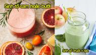 7 món sinh tố trái cây bổ dưỡng giúp mẹ bầu khỏe hơn trong thai kì