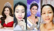 Hoa hậu Việt tự tin khoe mặt mộc: Người cuốn hút rạng rỡ, người nhạt nhòa kém sắc