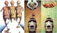 Không cần nhiều lời, những bức ảnh cũng lột trần được bộ mặt thật của con người ngày nay