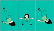 Những bài tập đơn giản giúp con gái sở hữu đôi chân thon dài, nuột nà