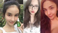 """Khi không makeup """"lồng lộn"""", thí sinh Hoa hậu chuyển giới ai đẹp hơn ai?"""