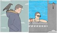 Những bức tranh biếm họa, trào phúng về bản chất thật của xã hội ngày nay, bạn hiểu được bao nhiêu?