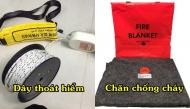 Cần trang bị ngay những vật dụng này nếu bạn muốn an toàn thoát khỏi đám cháy của nhà cao tầng