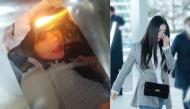 """Sau khi bị tẩy chay vì scandal """"trên trời rơi xuống"""", Irene buồn bã lẩn tránh camera tại sân bay"""