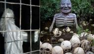 """Những bức tượng trong một công viên giải trí bỏ hoang ở Việt Nam khiến người xem """"nổi da gà"""""""